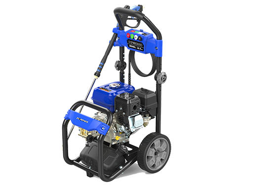High Pressure Washer - 6.5hp Commercial Engine
